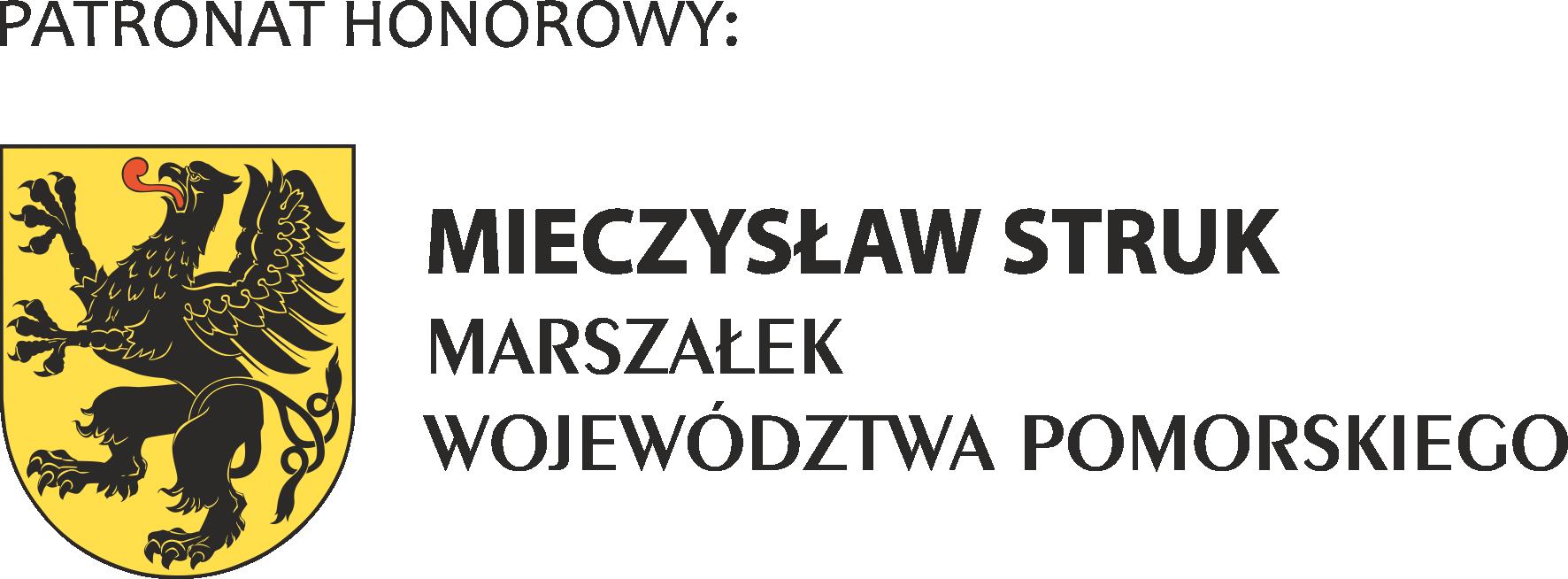 Logo Marszałka Województwa Pomorskiego