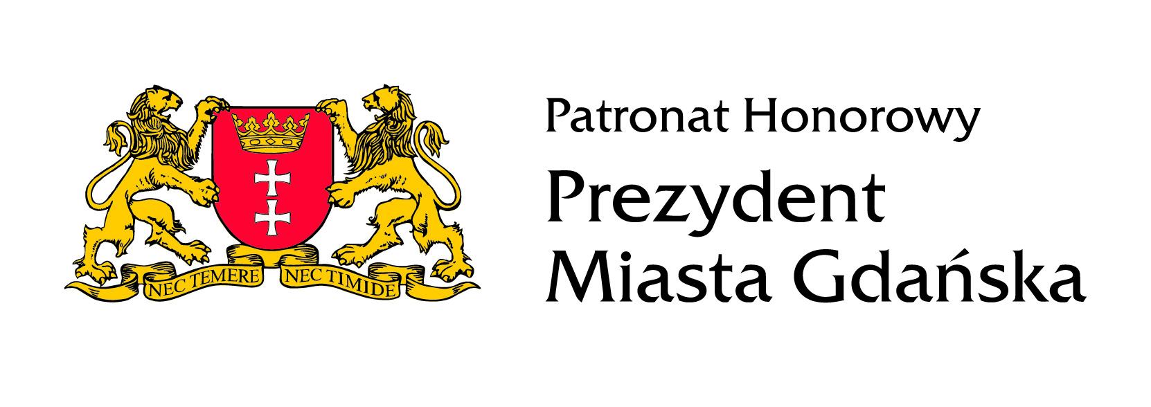 Logo Prezydenta Miasta Gdańsk